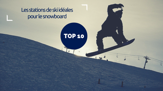 Top stations snowboard